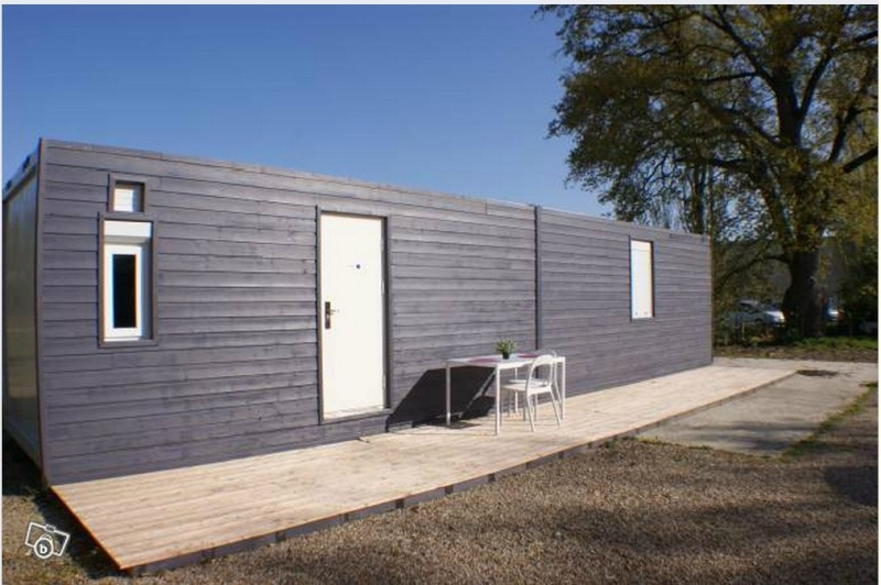 Amnager un container en maison container house u quitter for Taille container maison