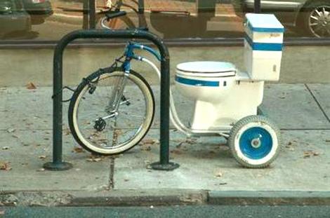 Tricycle pour gens très pressés... Velo10