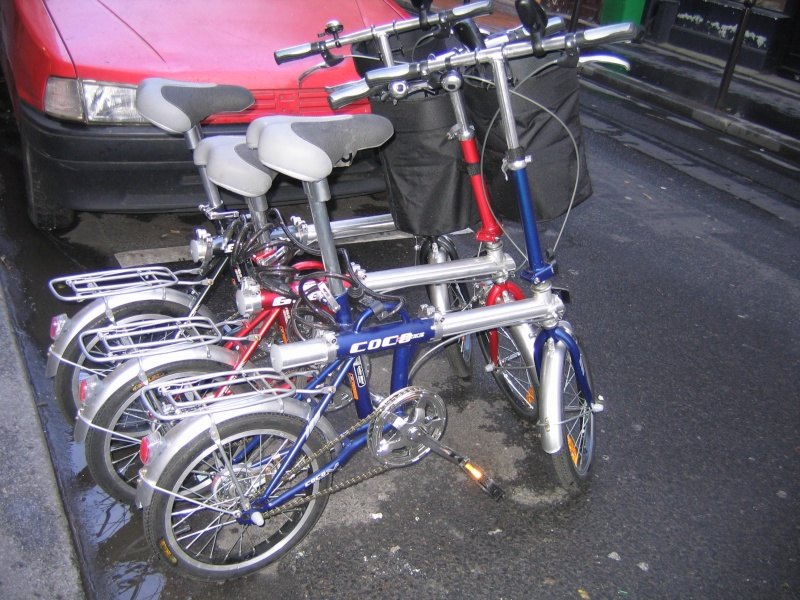 Le Strida, vélo pliant à courroie... We10