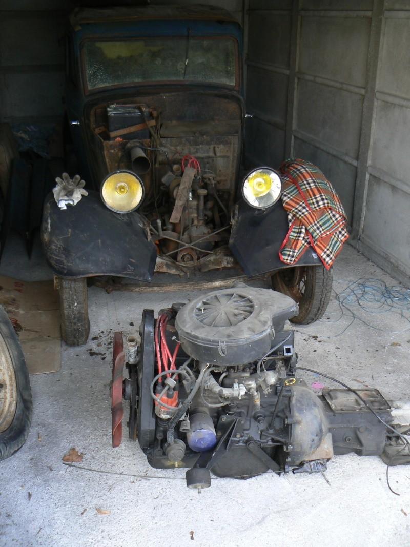 enfin dans le garage P1060213
