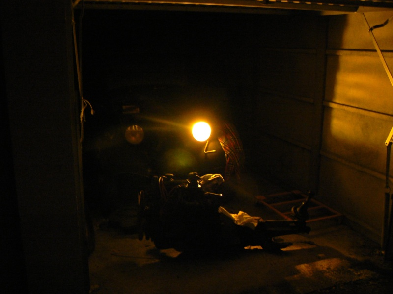 enfin dans le garage P1060317