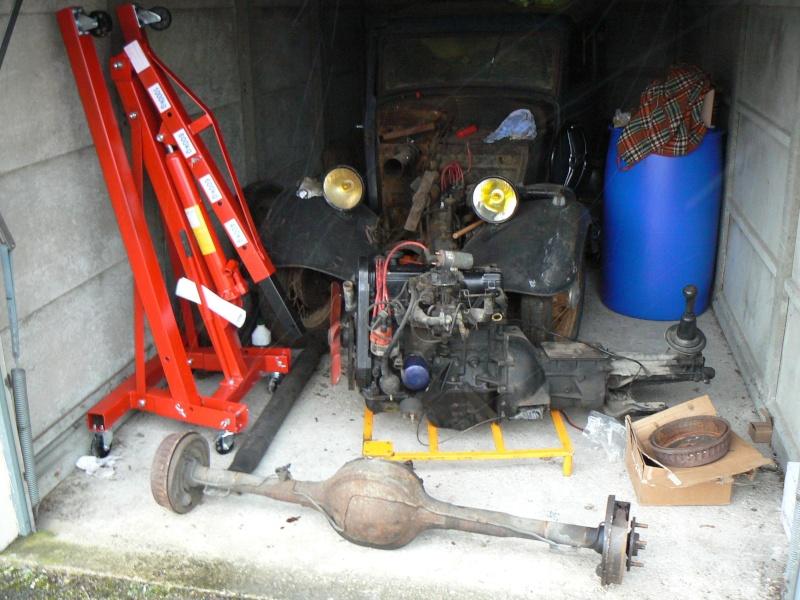 enfin dans le garage P1060324