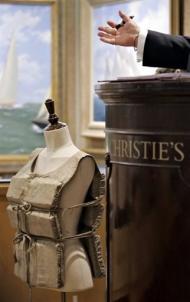 Enchères, ventes d'objets sur le Titanic Aleqm510