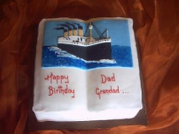 Titanic en gâteaux et chocolat - Page 2 Titani11