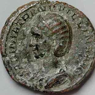 Corpus des monnaies de bronze de Tranquilline Tranqu10