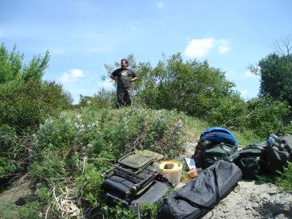 Pêche 100% sauvage sur le grand Rhône, Arrive10