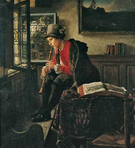 La clarinette vue par les peintres Meyer10