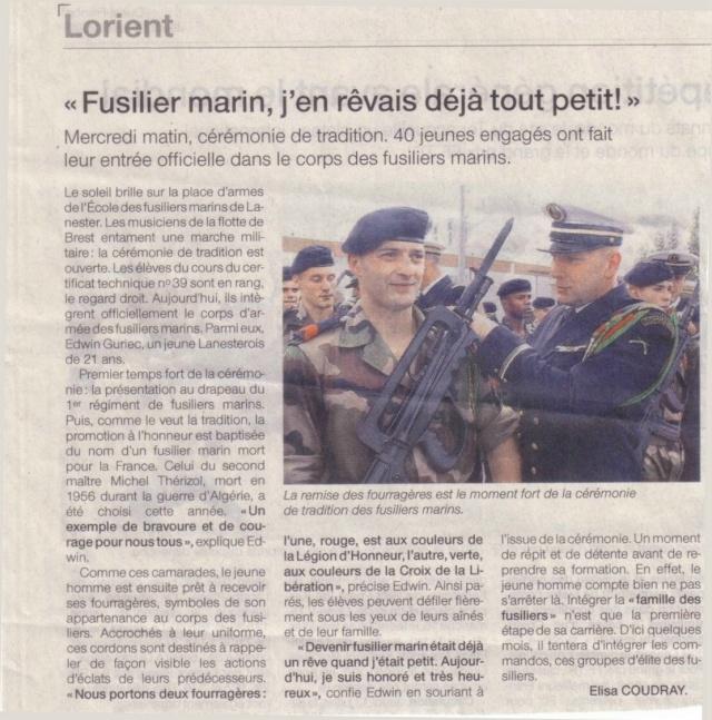 ÊTRE FIER D'ETRE FUSILIER MARIN. Ecoled11
