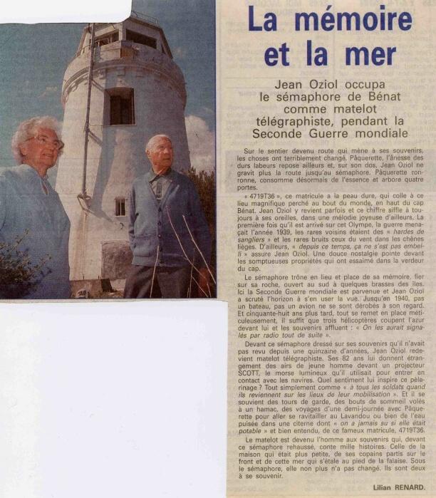 SÉMAPHORE - CAP BENAT ( VAR) Sardin12