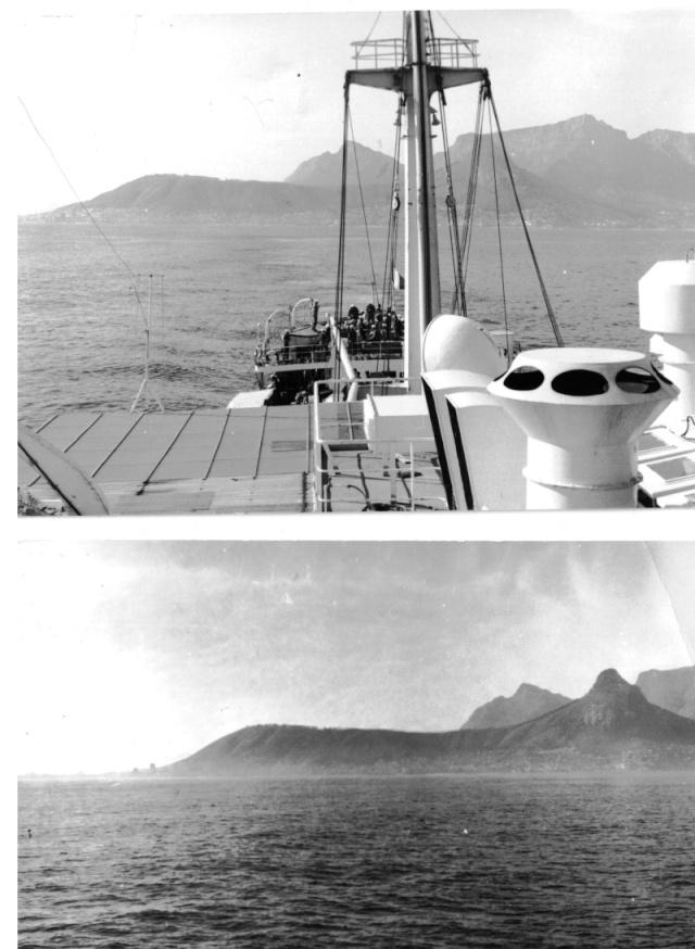 Vers la Guyane août 1973 Transp10