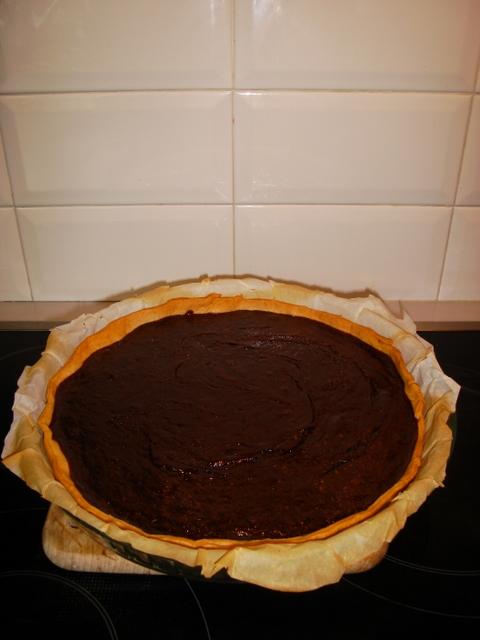 Tarte fine au chocolat Dsc09511