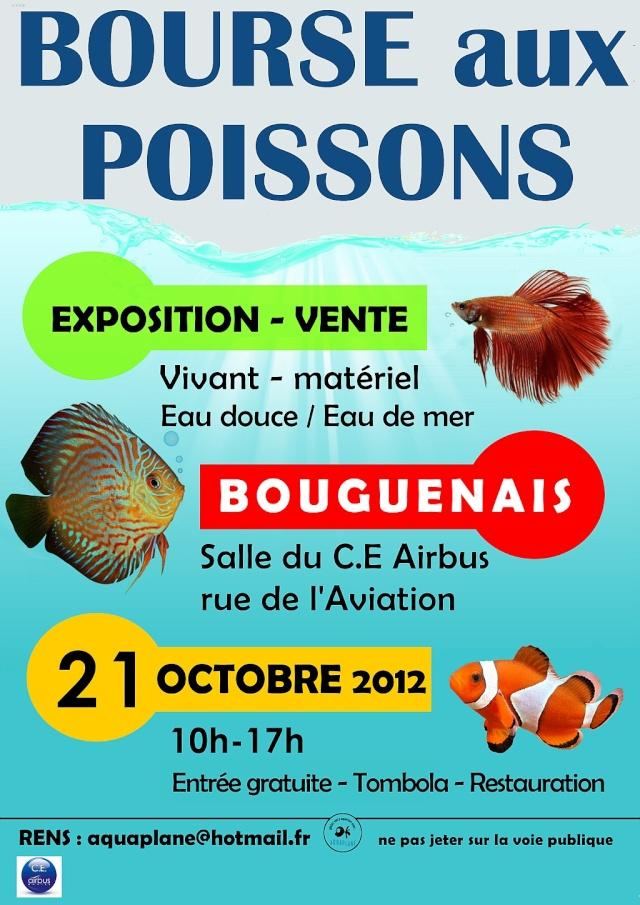 Bourse aquariophile Nantaise le 21 octobre 2012 Affich10