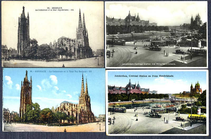 Colorisation des cartes postales Colori10