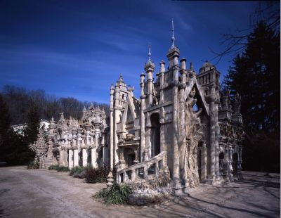 Palais du facteur Cheval, Hautes-Rives, Drôme, France A_fact11