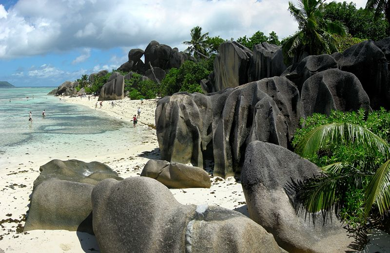 Anse de la source, la digue, seychelles,ocean indien Anse510