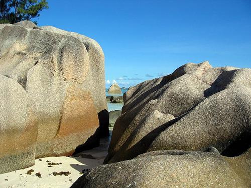 Anse de la source, la digue, seychelles,ocean indien Anse610