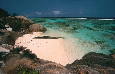 Anse de la source, la digue, seychelles,ocean indien Anseso10