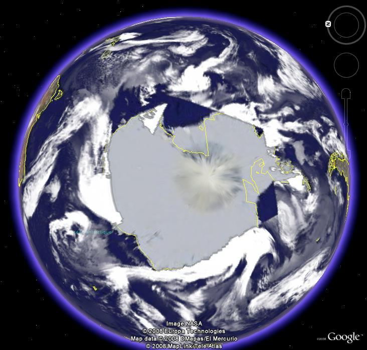 Dépressions, Atlantique sud, Antarctique Antart10