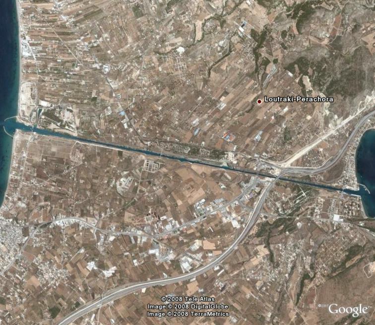 Canal de Corinthe GRECE Corint11