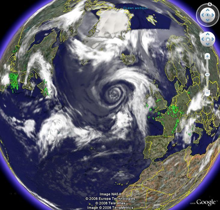 Dépression, Atlantique nord Cyclon10