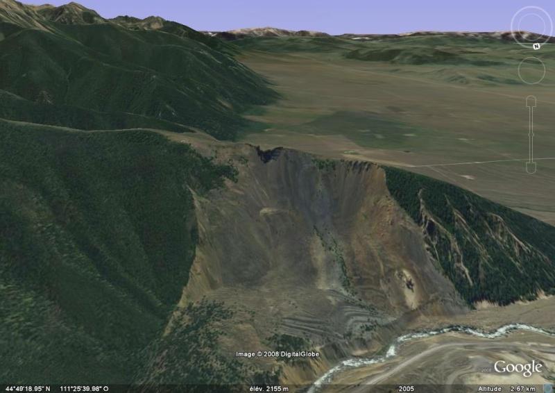 glissement de terrain, montana, etats unis Effond10