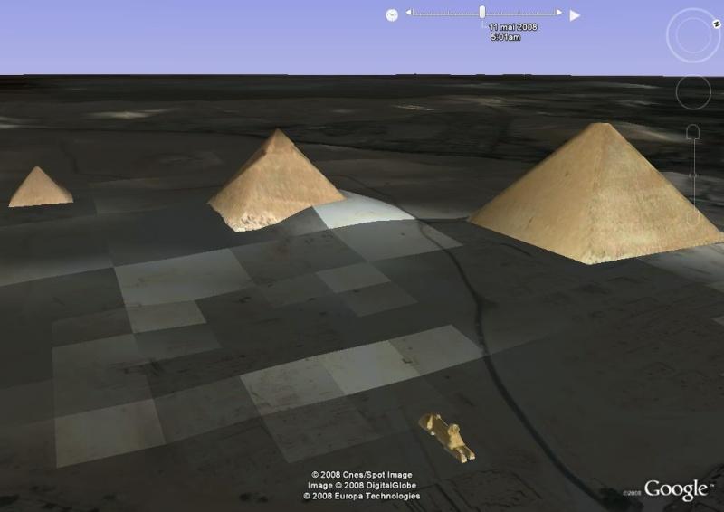Lever de soleil , pyramides, le caire, egypte, afrique Im_pyr16