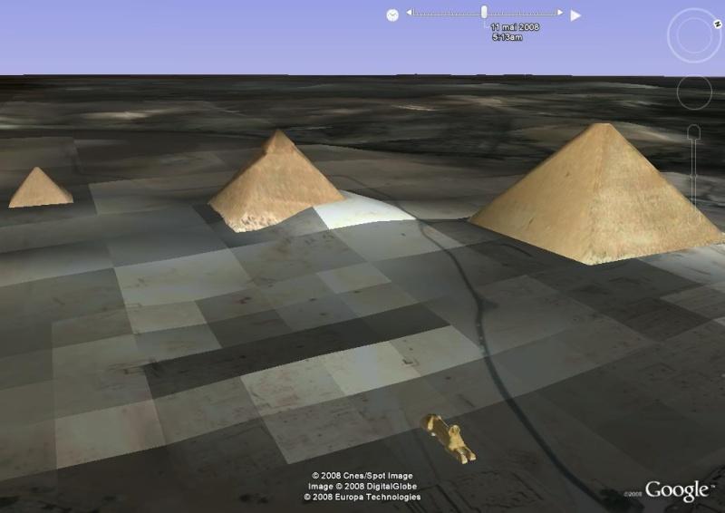 Lever de soleil , pyramides, le caire, egypte, afrique Im_pyr18
