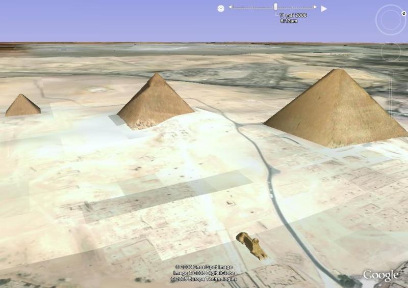 Lever de soleil , pyramides, le caire, egypte, afrique Im_pyr20