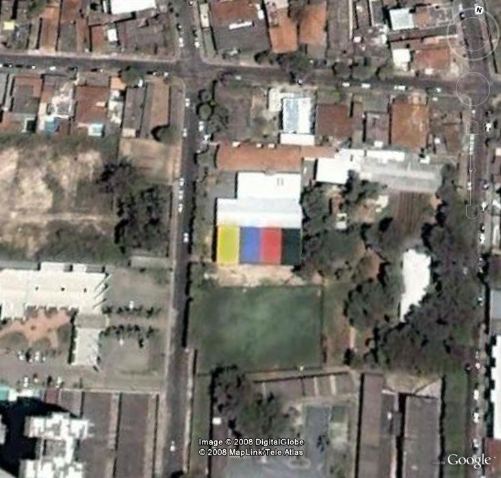 Toit coloré à ciuaba - Brésil, Amérique du sud Image_13