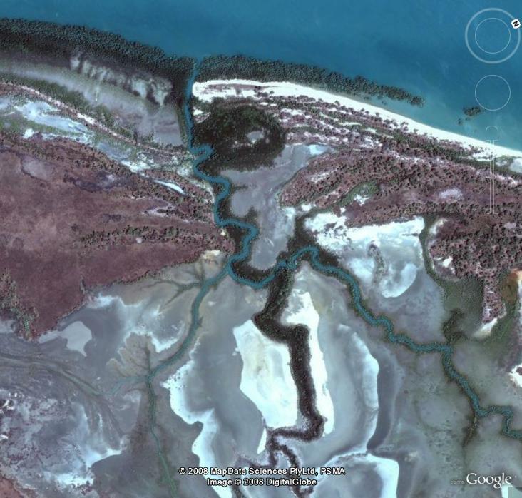 Rivière Couleurs, Prés de Darwin, Australie, Océanie Image_18