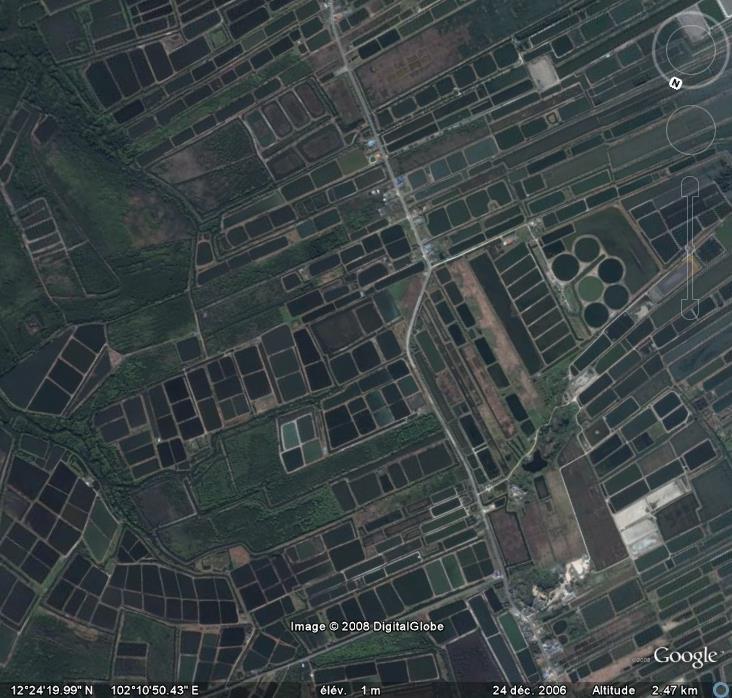 Marais salans, Khlung , Thailande, Asie Marais10
