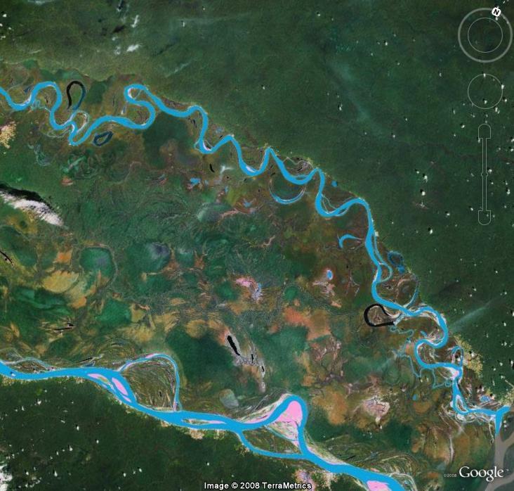 Méandres, Brésil, Amazonie, Amérique du sud Meandr10