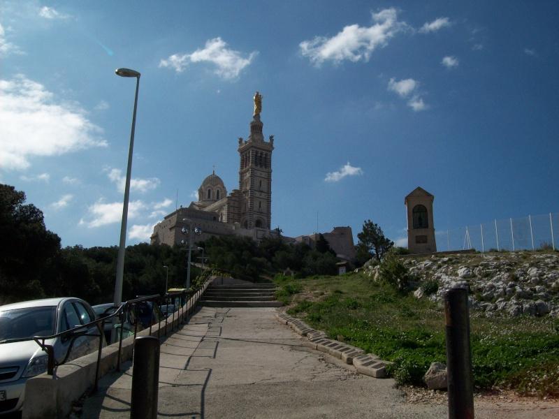 Visite Marseille, notre dame, PACA,France Montee10