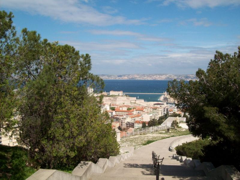 Visite Marseille, notre dame, PACA,France Montee12