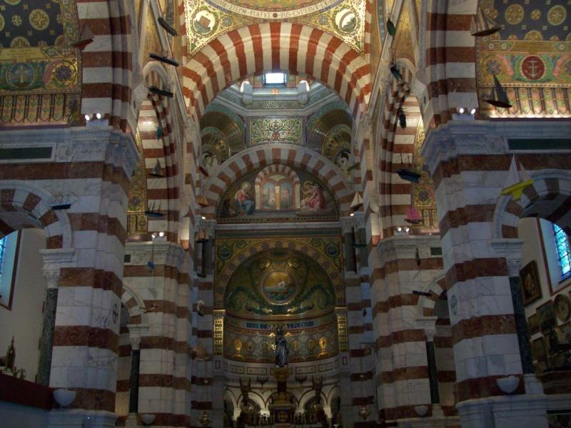 Visite Marseille, notre dame, PACA,France Nef10