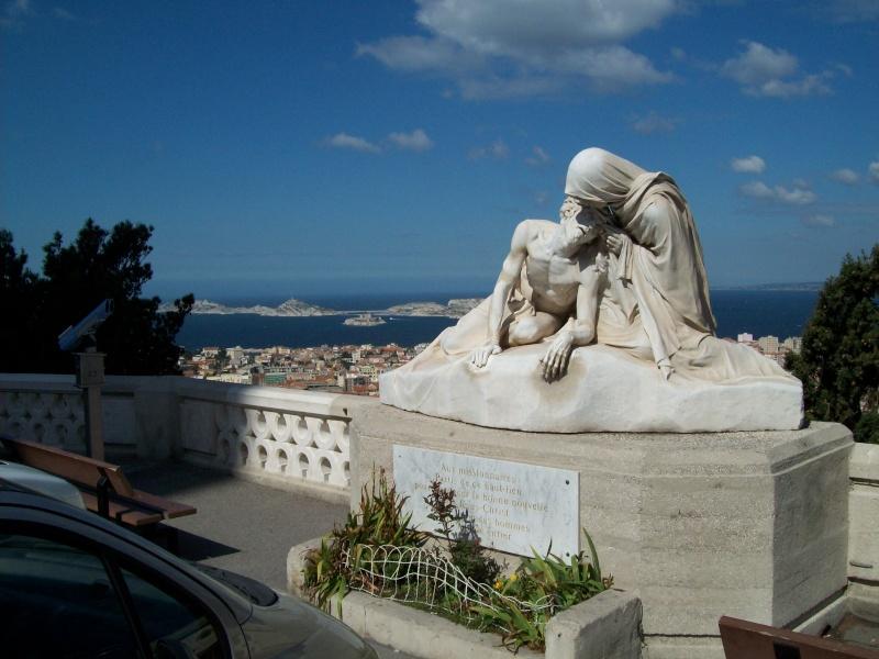 Visite Marseille, notre dame, PACA,France Pieta_10