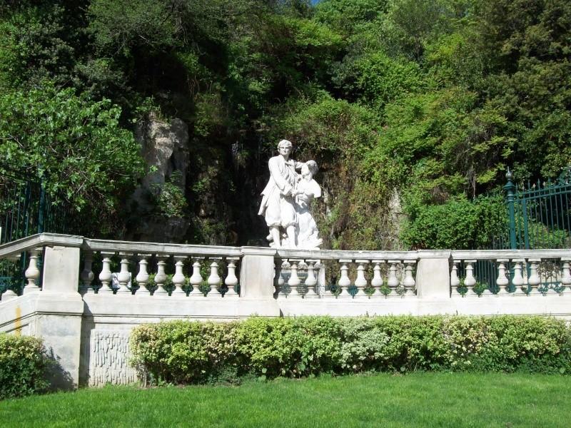 Visite Marseille, notre dame, PACA,France Statue10