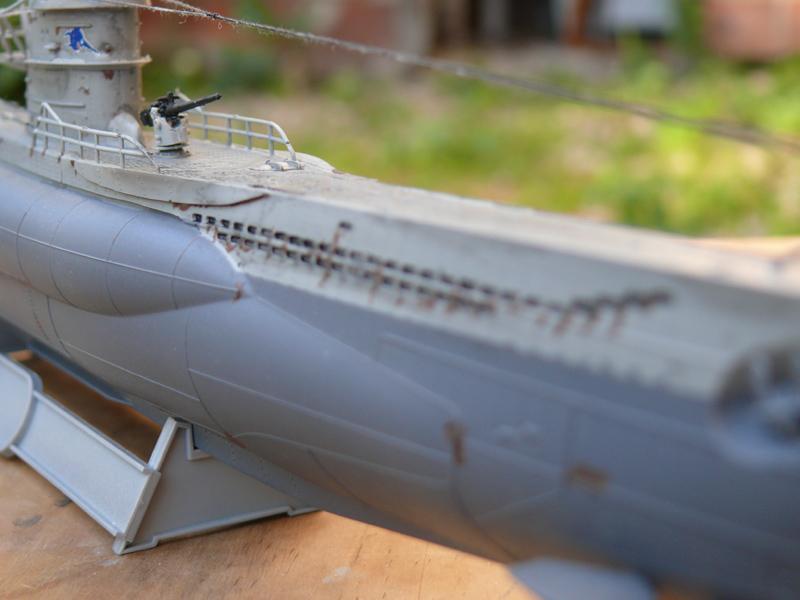 U-Boot type VII-C U96 [Revell 1/144] 1710