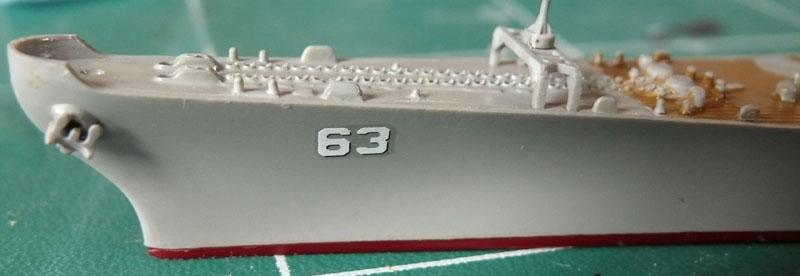 USS Missouri 1/700 trumpeter P1020910