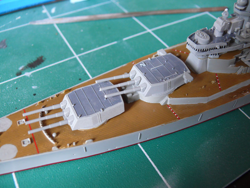USS Missouri 1/700 trumpeter P1020911