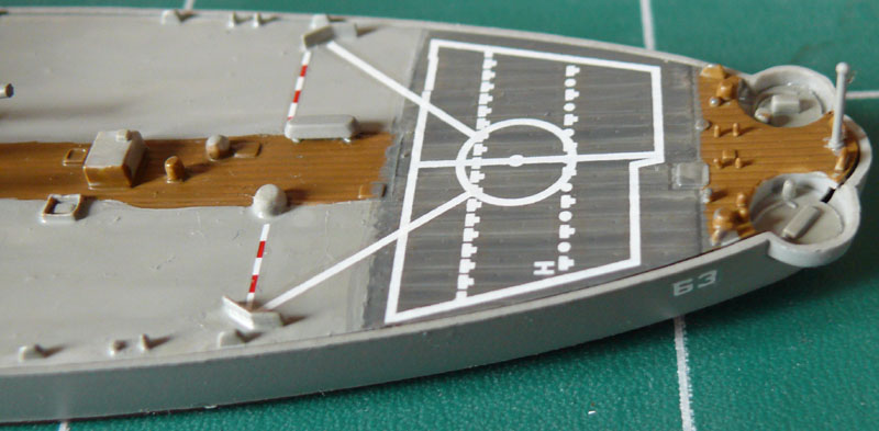 USS Missouri 1/700 trumpeter P1020913