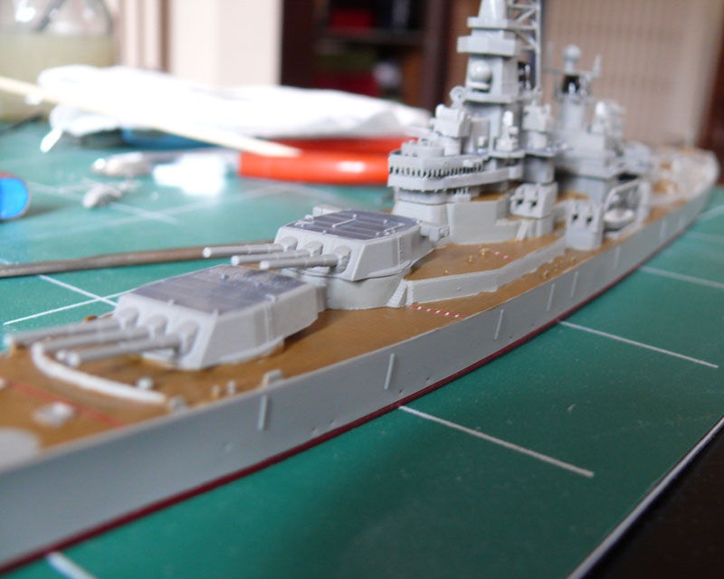 USS Missouri 1/700 trumpeter P1020915