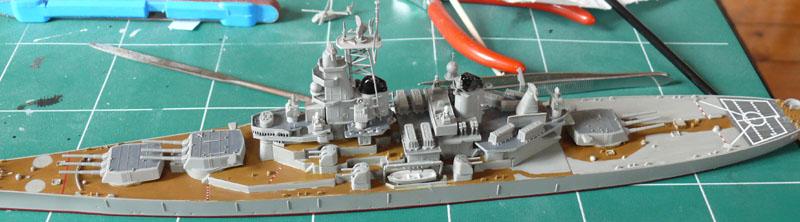 USS Missouri 1/700 trumpeter P1020916