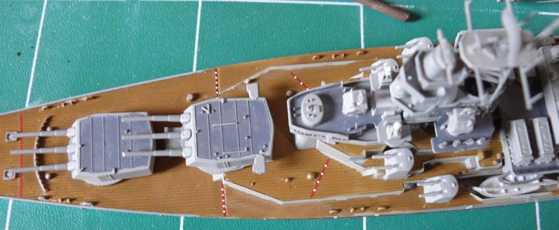USS Missouri 1/700 trumpeter P1020917