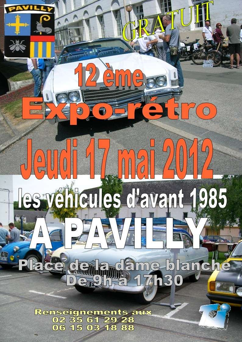 Jeudi de l'Ascension Pavilly 2012 Affich11