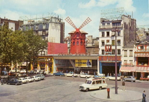 Photos et cartes postale 2cv camionnette  Parijs10