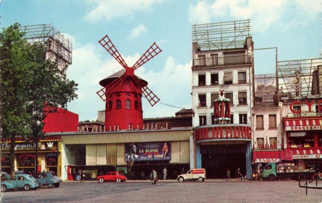 Photos et cartes postale 2cv camionnette  Paris_13