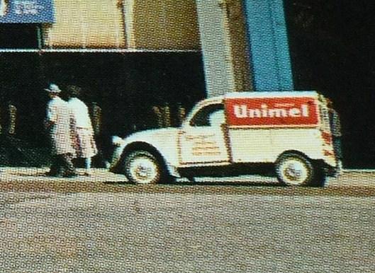 Photos et cartes postale 2cv camionnette  Paris_14