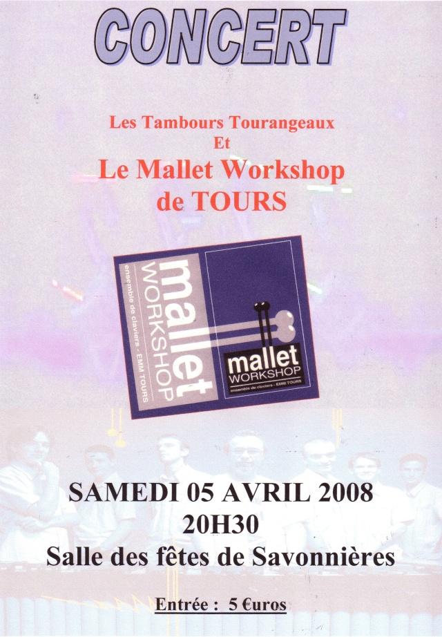 Concert à Savonnières : Tambours Tourangeaux (5 Avril 2008) Concer11