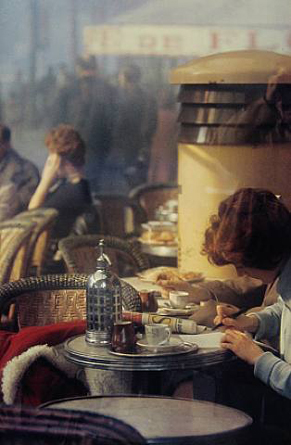 Saul Leiter [Photographe] Cafe_p10